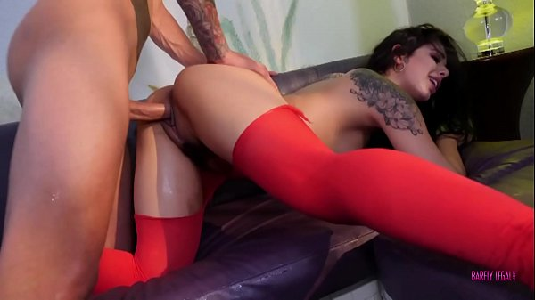 BARELY LEGAL Squirting Latina With Gina Valentina